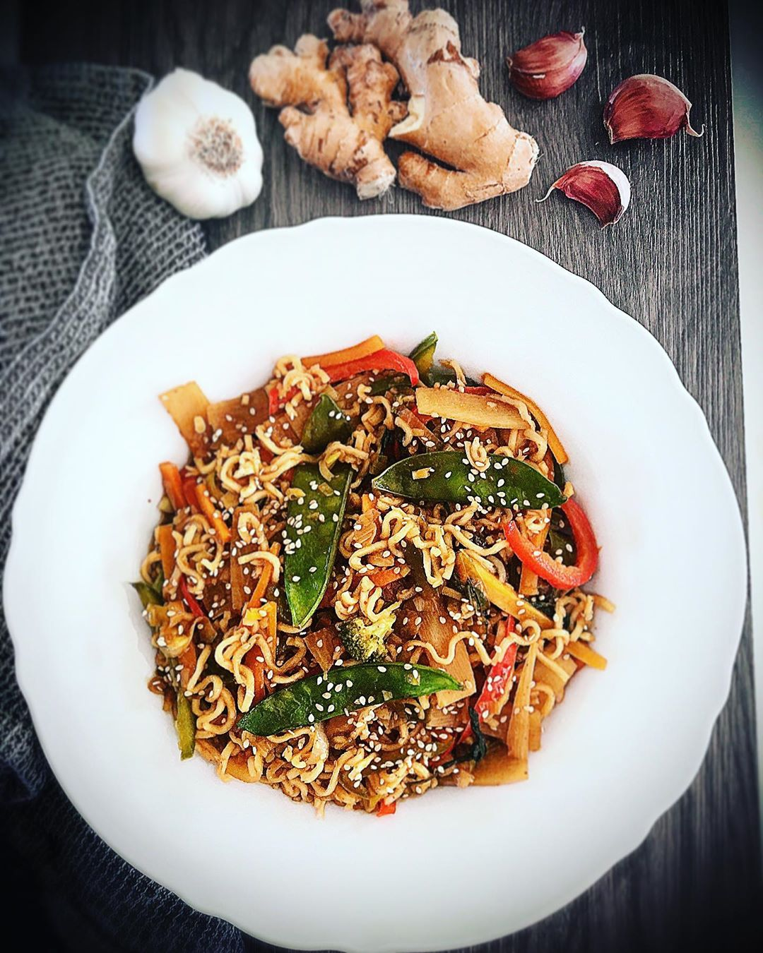 Quick & Easy: CHANTERELLE & VEGETABLE FRIED RICE